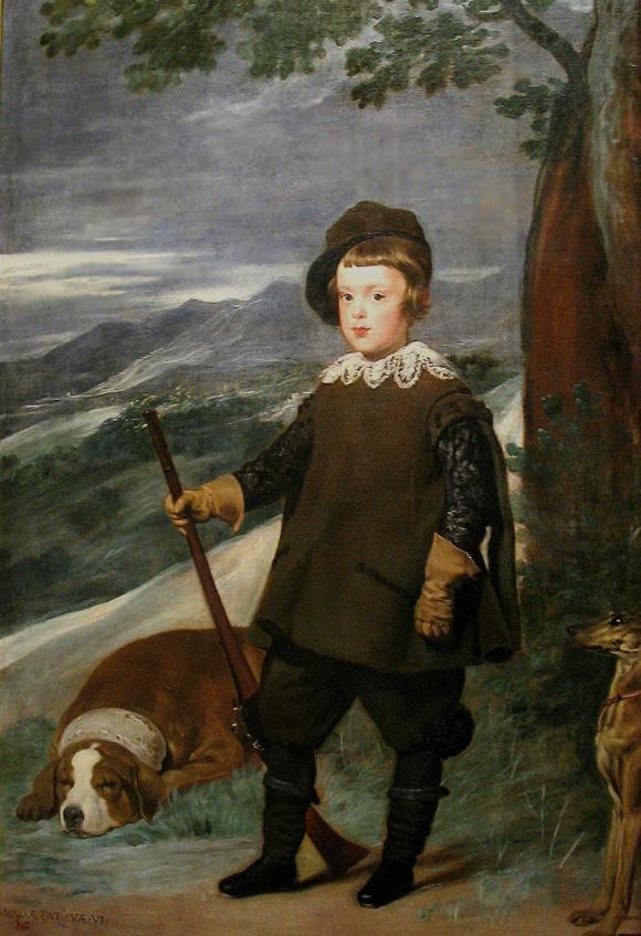 Prinz Baltasar Carlos als Jäger