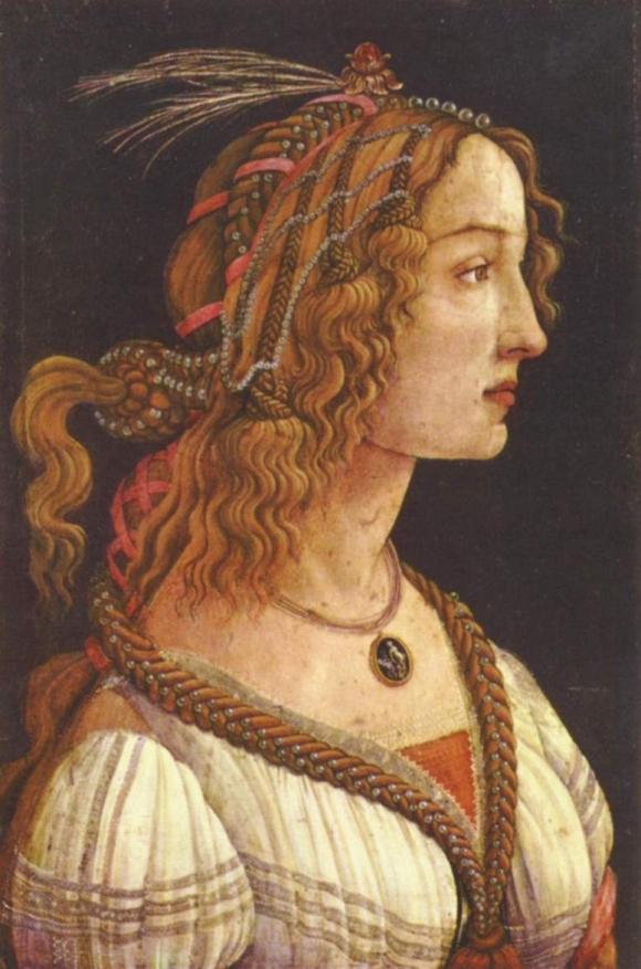 Porträt einer jungen Frau (Simonetta Vespucci?)