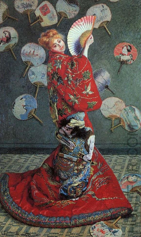 Claude Monet: Die japanerin; Madame Monet im japanischen Kleid