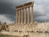 Colonnaden des Jupitertempels in Baalbek (Libanon)