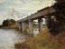 Claude Monet: Die Eisenbahnbrücke von Argenteuil (1874)