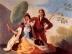 Francisco Goya: Entwürfe für die Wandteppiche zur Ausschmückung der Königl. Paläste El Pardo und El Escorial, Szene: Der Sonnenschirm (1777)