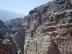 Khazneh in Petra, gesehen aus Jebel al Khubtha, Jordanien