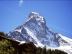 Matterhorn, Nordseite, gesehen aus Stafelalp