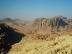 Stadt Petra, inmitten von Bergen
