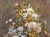 Stilleben mit großer Blumenvase