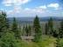Mittelgebirgslandschaft, großflächige Waldschäden