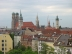 Blick auf die Altstadt, Frauenkirche im Hintergrund