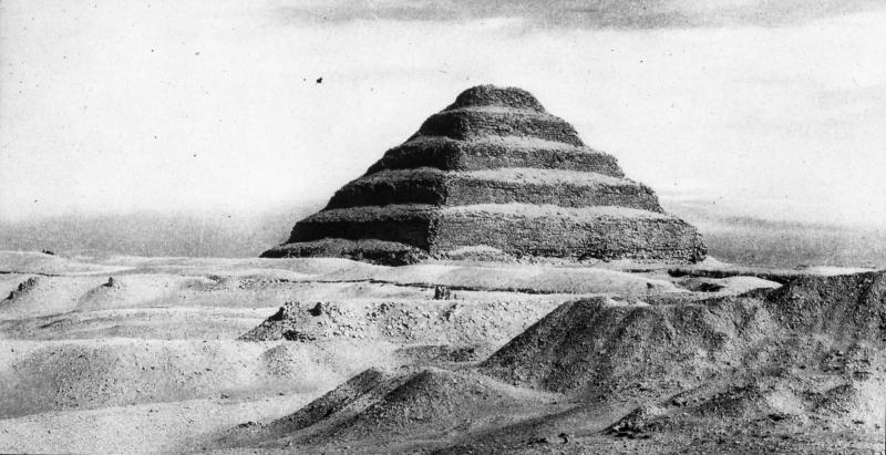 Djoser Pyramid - 1900