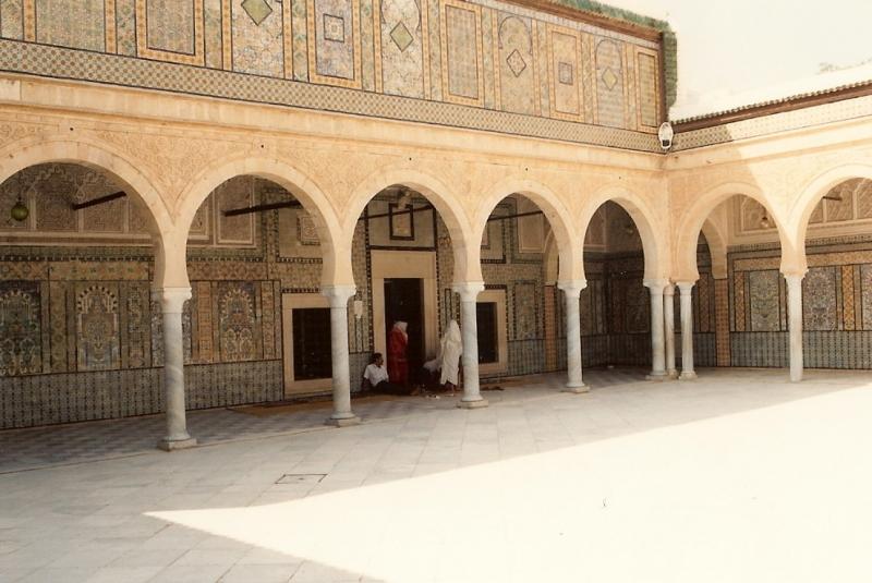 Barbier-Moschee in Kairouan, Tunesien