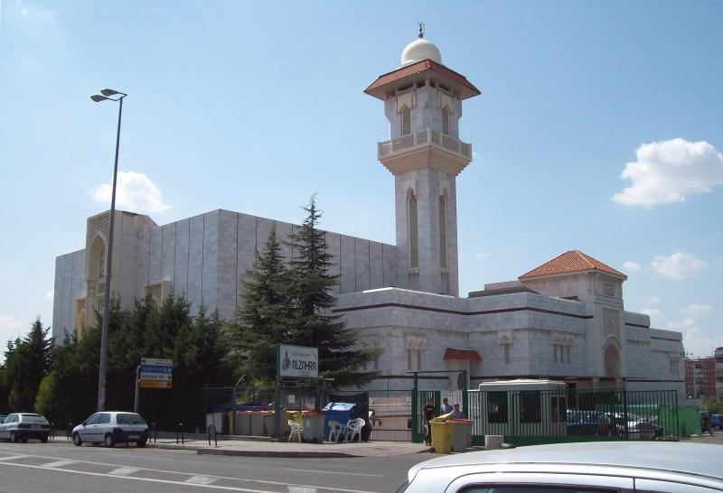 Islamisches kulturzentrum und Moschee  von Madrid