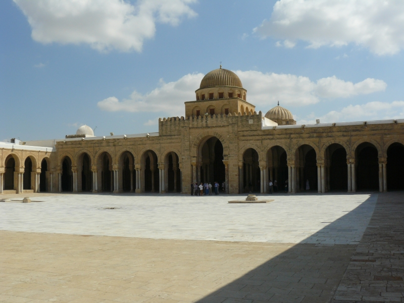 Courtyard of the Great Mosque of Kairouan
