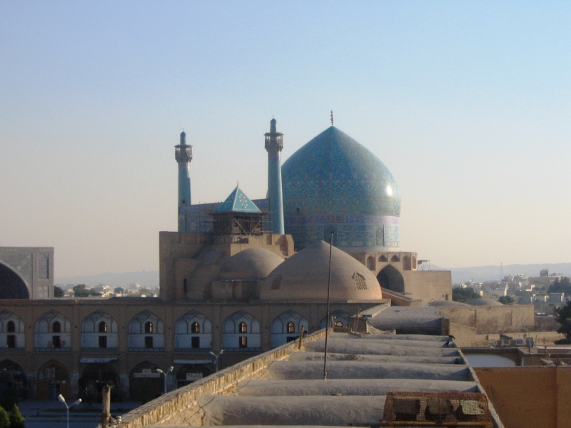 Masjed-e Schah Moschee, Isfahan, Iran