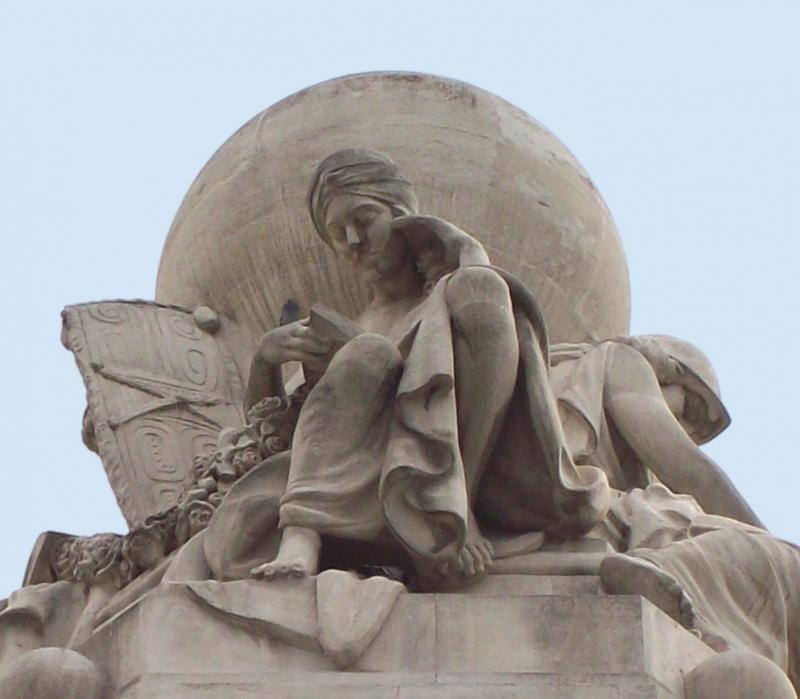 Monument: Miguel de Cervantes, Madrid