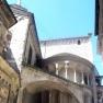 Bergamo: Particolare dell´abside della Basilica di S. Maria Maggiore