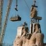 Abu Simbel, Verlegung der Sitzbilder