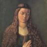 Die Fürlegerin mit offenem Haar