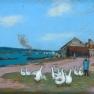 Alfred Sisley: Village de Saint Mammès (ca. 1898 )