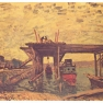 Alfred Sisley: Brücke im Bau (1885)