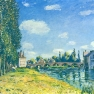 Alfred Sisley: Brücke von Moret im Sommer (1888)