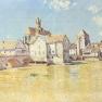 Alfred Sisley: Brücke von Moret in der Morgensonne (1888)