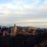 Alhambra: Sicht von der Terasse der Mezquita Mayor