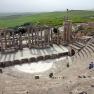 Amphitheater in Dougga, Tunesien