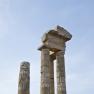 Apollon temple acropolis Rhodes