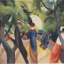 August_Macke_-_Promenade_-_1913