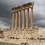 Colonnaden des Jupitertempels in Baalbek (Libanon)