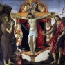 Botticelli: Heilige Dreifaltigkeit
