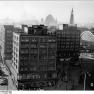 Berlin, Alexanderplatz, Bahnhof, Hochhäuser (1 Februar 1964)