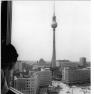 Berlin, Alexanderplatz, Fernsehturm (29 October 1970)