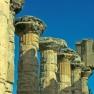 Tempio di Zeus, interno, particolare
