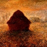 Claude Monet: Haystacks on a Foggy Morning, Oil on canvas (1891)