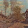 Claude Monet: Der Bach von Robec (1872)