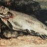 Die Forelle, Gemälde von Gustave Courbet, 1871