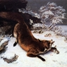Courbet_Fox_in_the_snow