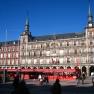 December markets in Plaza Mayor, Madrid
