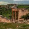 Dougga_capitol_from_theatre