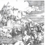 Abrecht Dürer: Das Meerwunder (Stich um 1498)