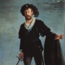 Jean-Baptiste Faure als Hamlet