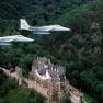 F-15s over Burg Eltz 1977