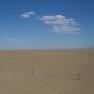 Ebene in der Gobi-Wüste