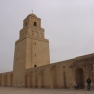 Great Mosque of Kairouan minaret and walls