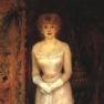 Pierre-Auguste Renoir: Jeanna Samary (1878), Saint-Petersbourg, Eremitage (Sankt Petersburg)