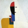 Kazimir Malevich - Woman Torso