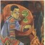Ernst Ludwig Kirchner: Der Trinker (Selbsportrait)