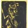 Ernst Ludwig Kirchner: Selbstbildnis mit Zigarette