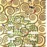 Gustav Klimt: Werkvorlage zum Stocletfries - Der Rosenstrauch (1905-1909)